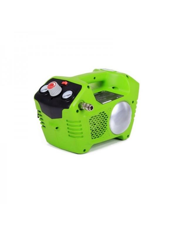 Greenworks 40 volt Accu Compressor G40AC (excl. accu & lader)