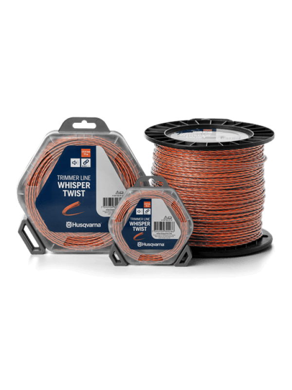 Husqvarna Trimmerdraad Whisper Twist Ø 2.4mm 12m